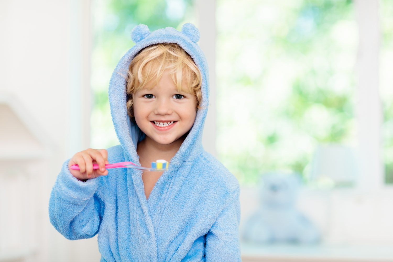 Zähneputzen Kinder